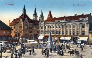 Temesvar Kossuth - ter